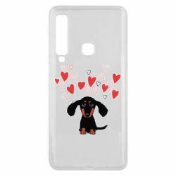 Чохол для Samsung A9 2018 I love dachshund