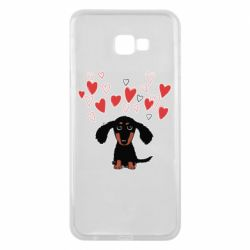 Чохол для Samsung J4 Plus 2018 I love dachshund