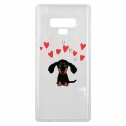 Чохол для Samsung Note 9 I love dachshund