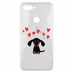 Чохол для Xiaomi Mi8 Lite I love dachshund