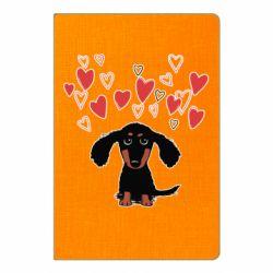 Блокнот А5 I love dachshund