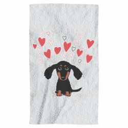 Рушник I love dachshund