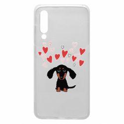 Чохол для Xiaomi Mi9 I love dachshund