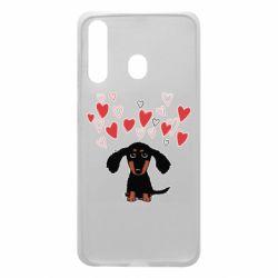 Чохол для Samsung A60 I love dachshund