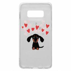 Чохол для Samsung S10e I love dachshund