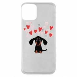Чохол для iPhone 11 I love dachshund