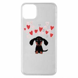 Чохол для iPhone 11 Pro Max I love dachshund