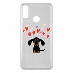 Чохол для Samsung A10s I love dachshund