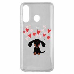 Чохол для Samsung M40 I love dachshund