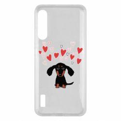 Чохол для Xiaomi Mi A3 I love dachshund