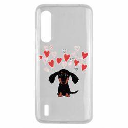 Чохол для Xiaomi Mi9 Lite I love dachshund