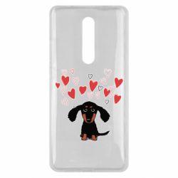 Чохол для Xiaomi Mi9T I love dachshund