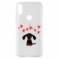 Чохол для Xiaomi Mi Play I love dachshund