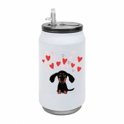 Термобанка 350ml I love dachshund