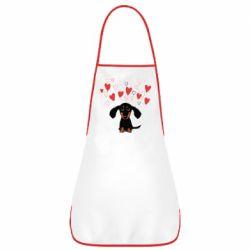 Фартух I love dachshund
