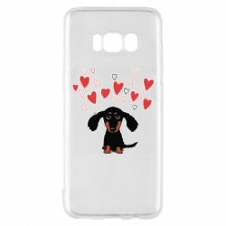 Чохол для Samsung S8 I love dachshund