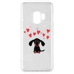 Чохол для Samsung S9 I love dachshund