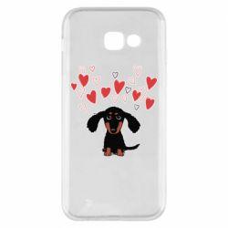 Чохол для Samsung A5 2017 I love dachshund