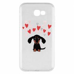 Чохол для Samsung A7 2017 I love dachshund
