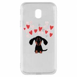 Чохол для Samsung J3 2017 I love dachshund