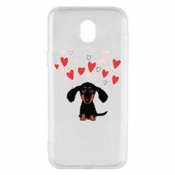 Чохол для Samsung J5 2017 I love dachshund