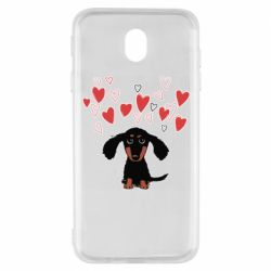 Чохол для Samsung J7 2017 I love dachshund