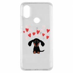 Чохол для Xiaomi Mi A2 I love dachshund
