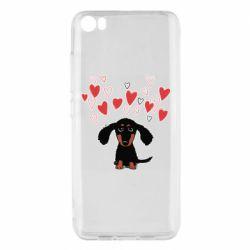 Чохол для Xiaomi Mi5/Mi5 Pro I love dachshund