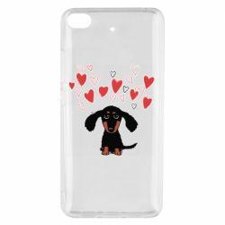 Чохол для Xiaomi Mi 5s I love dachshund
