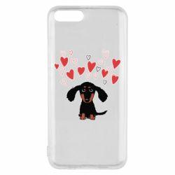 Чохол для Xiaomi Mi6 I love dachshund
