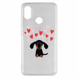 Чохол для Xiaomi Mi8 I love dachshund