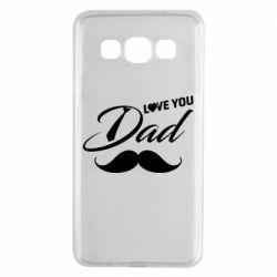 Чохол для Samsung A3 2015 I Love Dad