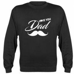 Реглан (світшот) I Love Dad