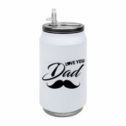 Термобанка 350ml I Love Dad