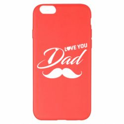 Чохол для iPhone 6 Plus/6S Plus I Love Dad