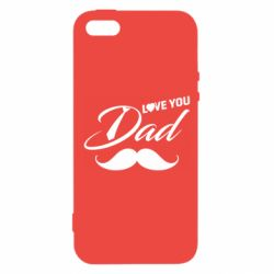 Чохол для iphone 5/5S/SE I Love Dad