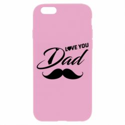 Чохол для iPhone 6/6S I Love Dad