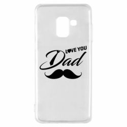 Чохол для Samsung A8 2018 I Love Dad