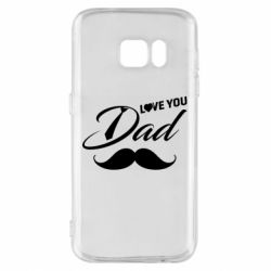 Чохол для Samsung S7 I Love Dad