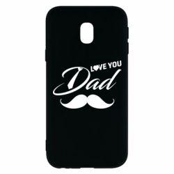 Чохол для Samsung J3 2017 I Love Dad