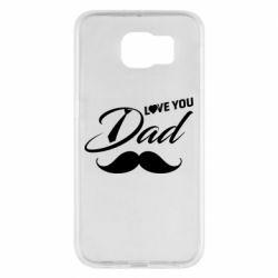 Чохол для Samsung S6 I Love Dad