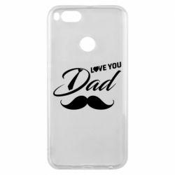 Чохол для Xiaomi Mi A1 I Love Dad