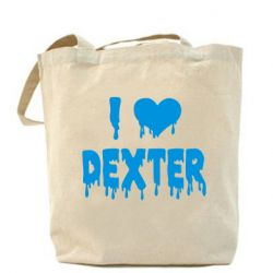 Сумка I love Dexter - FatLine