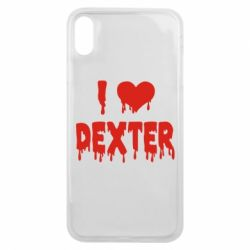 Чехол для iPhone Xs Max I love Dexter