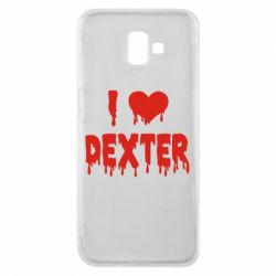 Чехол для Samsung J6 Plus 2018 I love Dexter