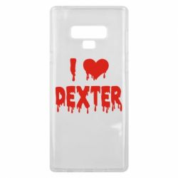 Чехол для Samsung Note 9 I love Dexter