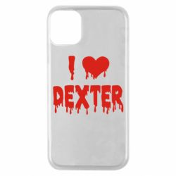 Чехол для iPhone 11 Pro I love Dexter