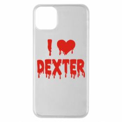 Чехол для iPhone 11 Pro Max I love Dexter