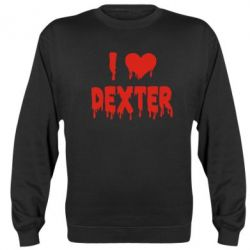 Реглан (свитшот) I love Dexter - FatLine