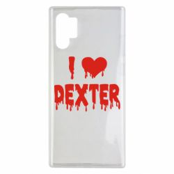 Чехол для Samsung Note 10 Plus I love Dexter